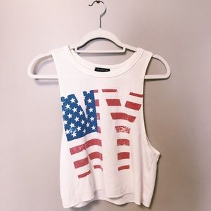 Tops - SLEEVELESS NY TANK 🇺🇸